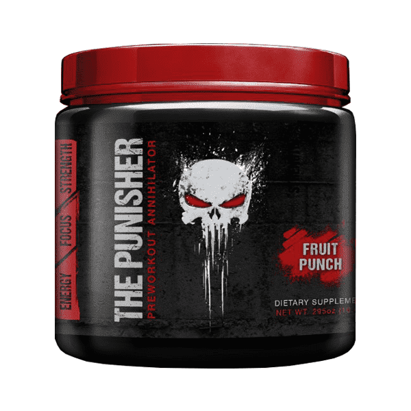 RED The Punisher EPHEDRA 50mg + 1.3 DMAA 150g фото